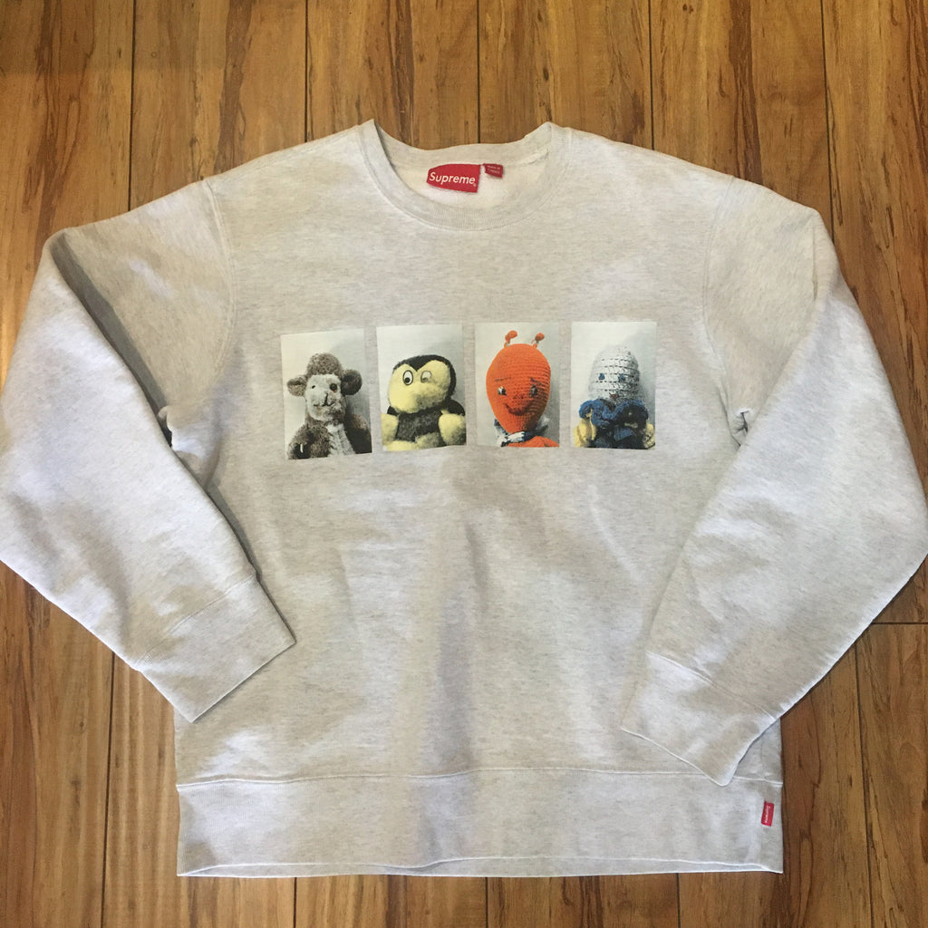 Supreme Crew Neck Mike Kelley AhhYouth Grey F/W 18'