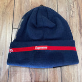 Supreme Beanie New Era Sequin Navy F/W 20'