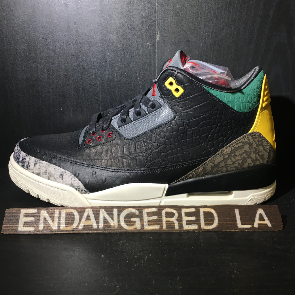 Air Jordan 3 Animal Instinct 2.0 Sz 9.5