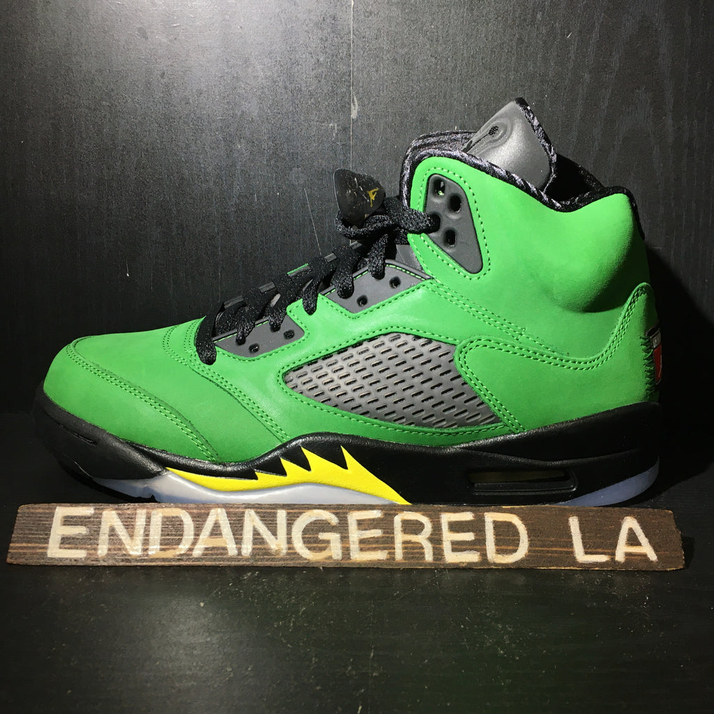 Air Jordan 5 Oregon Sz 9