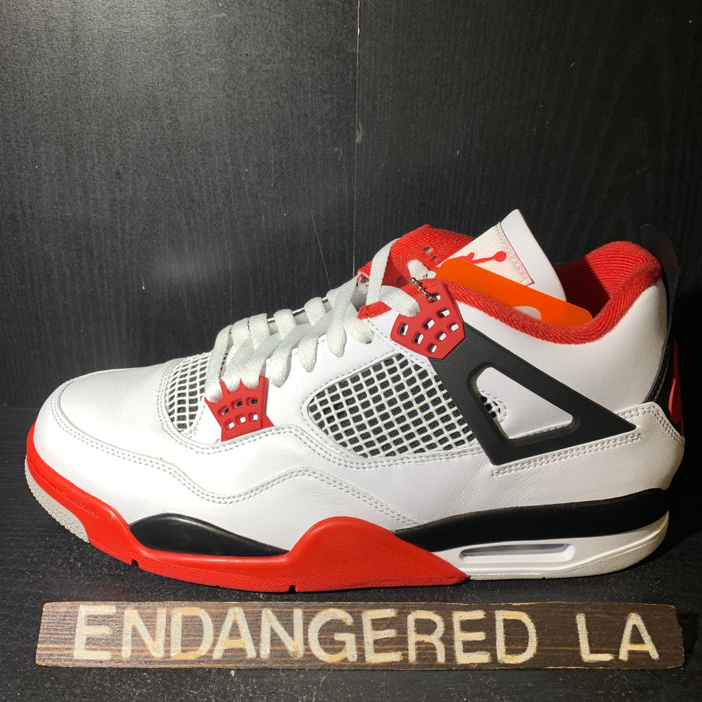 Air Jordan 4 Fire Red 20' Sz 13