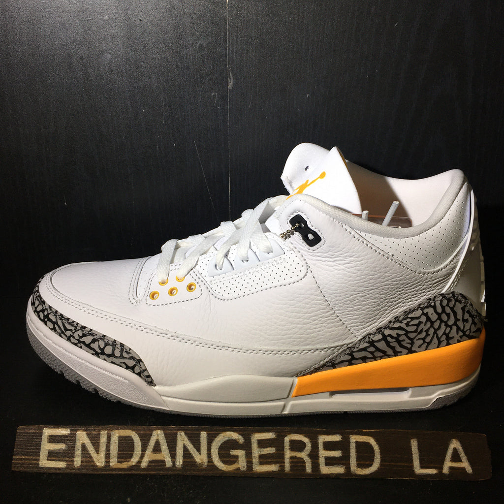 Air Jordan 3 Laser Orange Sz 9(M)