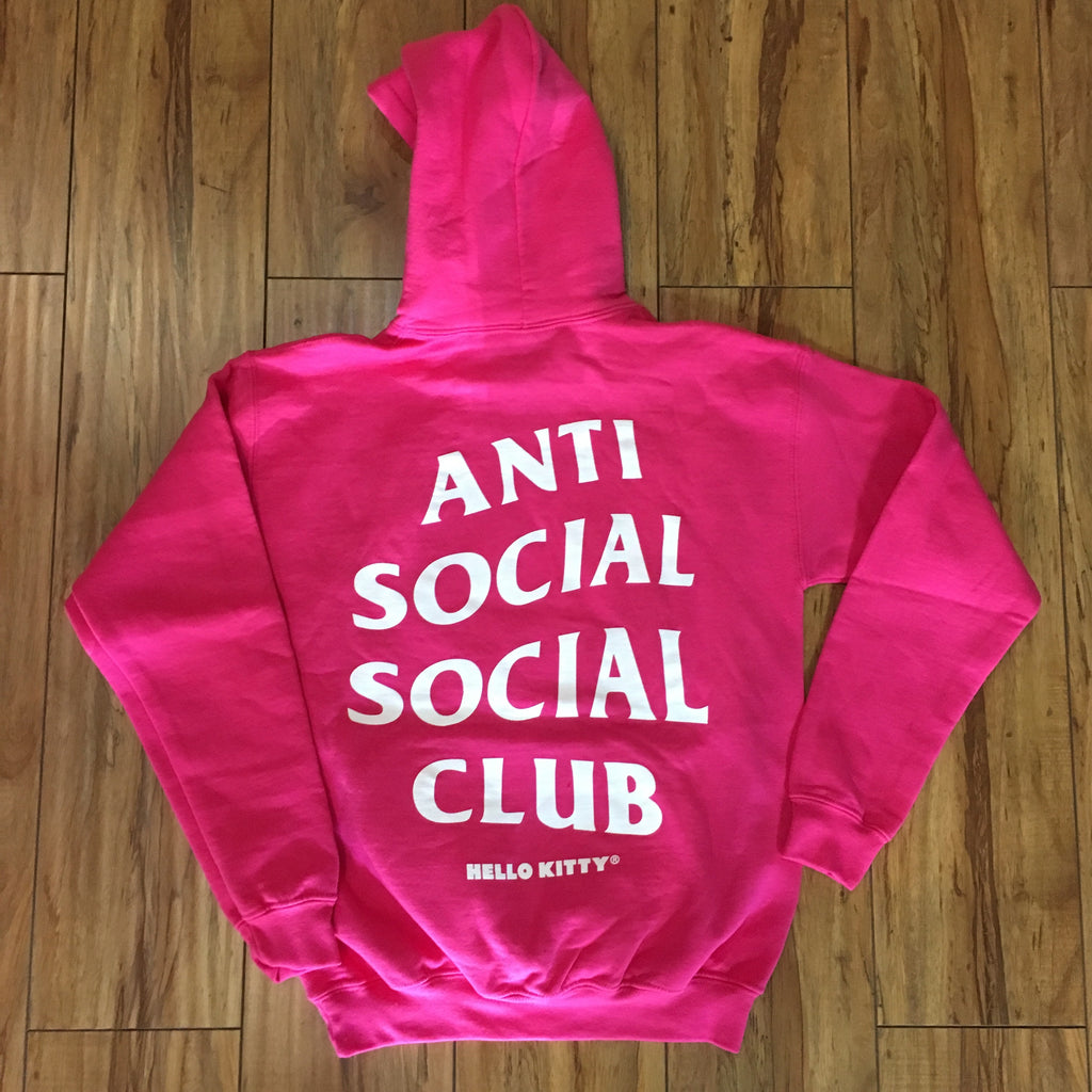 Anti Social Social Club Hello Kitty Hoodie Sz XS