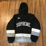 Supreme Jacket Puffy Hockey Pullover Black F/W 17' Sz L