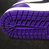 Air Jordan 1 Court Purple 2.0 Sz 13