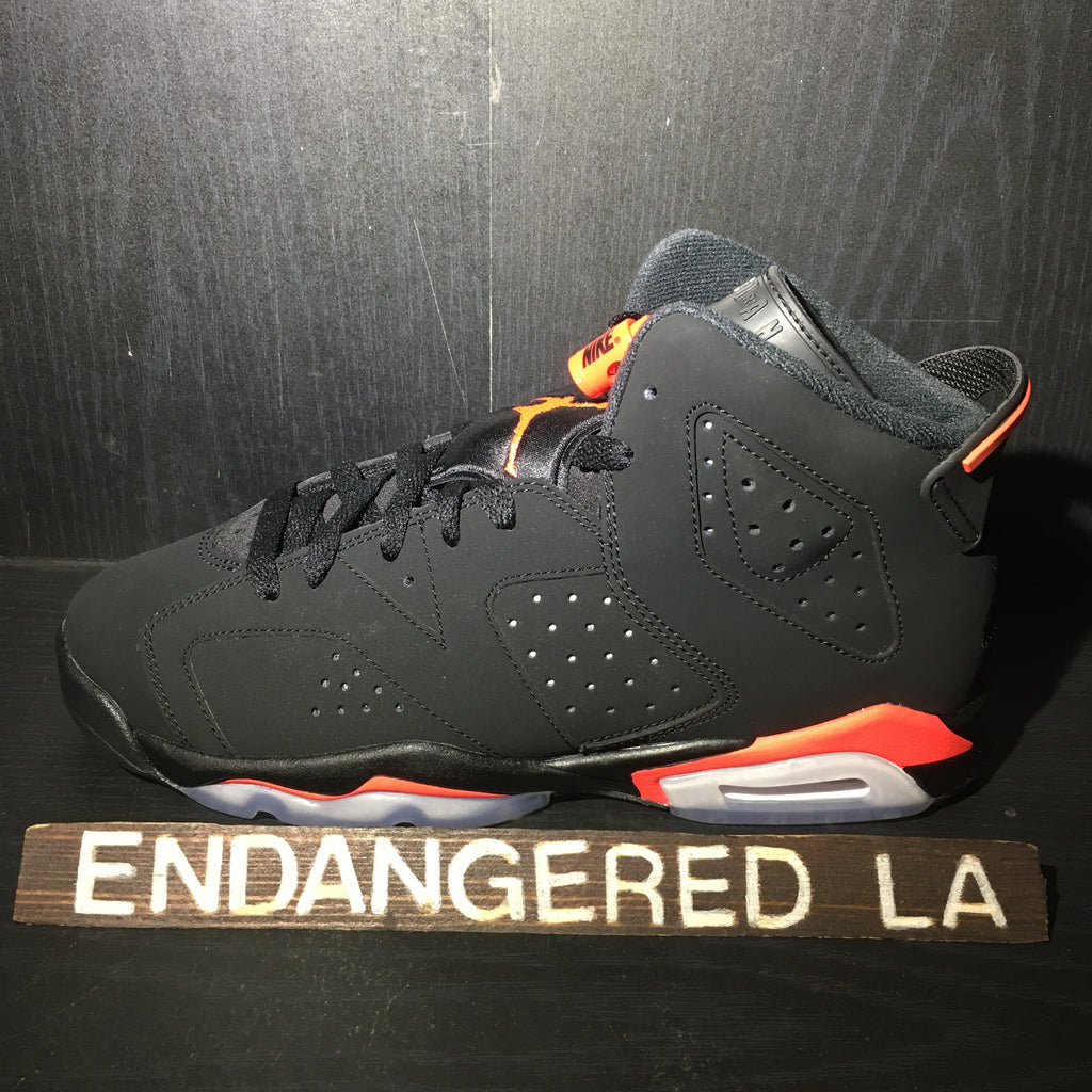 Air Jordan 6 Black Infrared 19' Sz 7