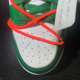 Nike Dunk Low Off White Pine Green Sz 10.5