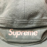 Supreme Hat Napped Canvas Camp Cap Dusty Tea F/W18'