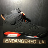 Air Jordan 6 Black Infrared 19' Sz 8