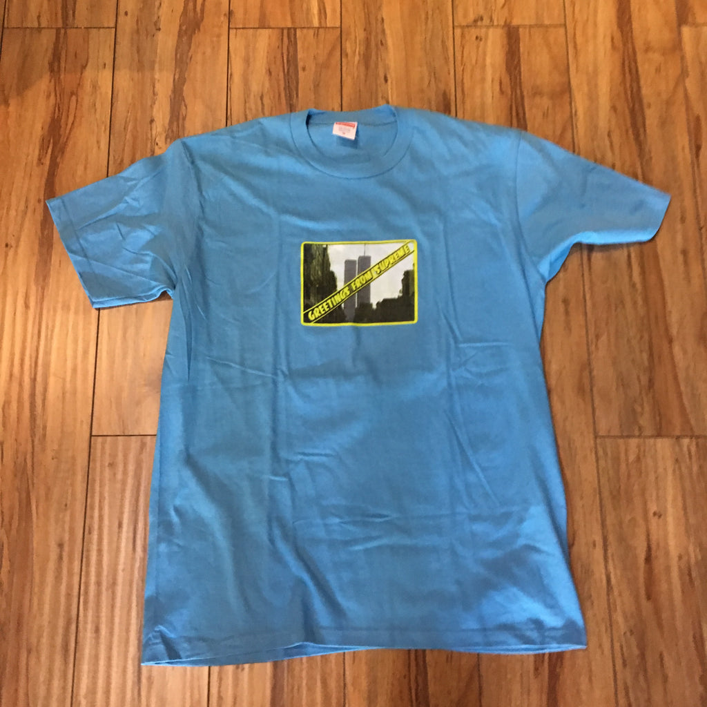 Supreme Greetings Tee S/S 19' Slate  Sz M