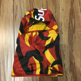 Supreme Balaclava Tribal Camo Red Tribal F/W 19'