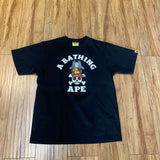 Bape Milo Pirate College Blacks Sz M