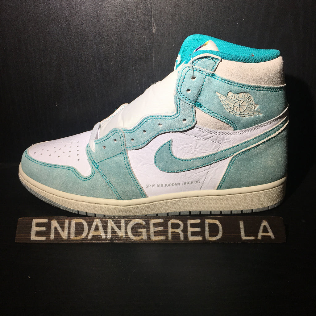 Air Jordan 1 Turbo Green Sz 10.5