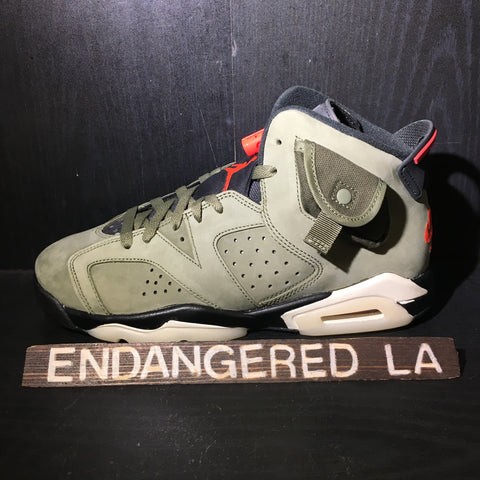 Air Jordan 6 Travis Scott Sz 7