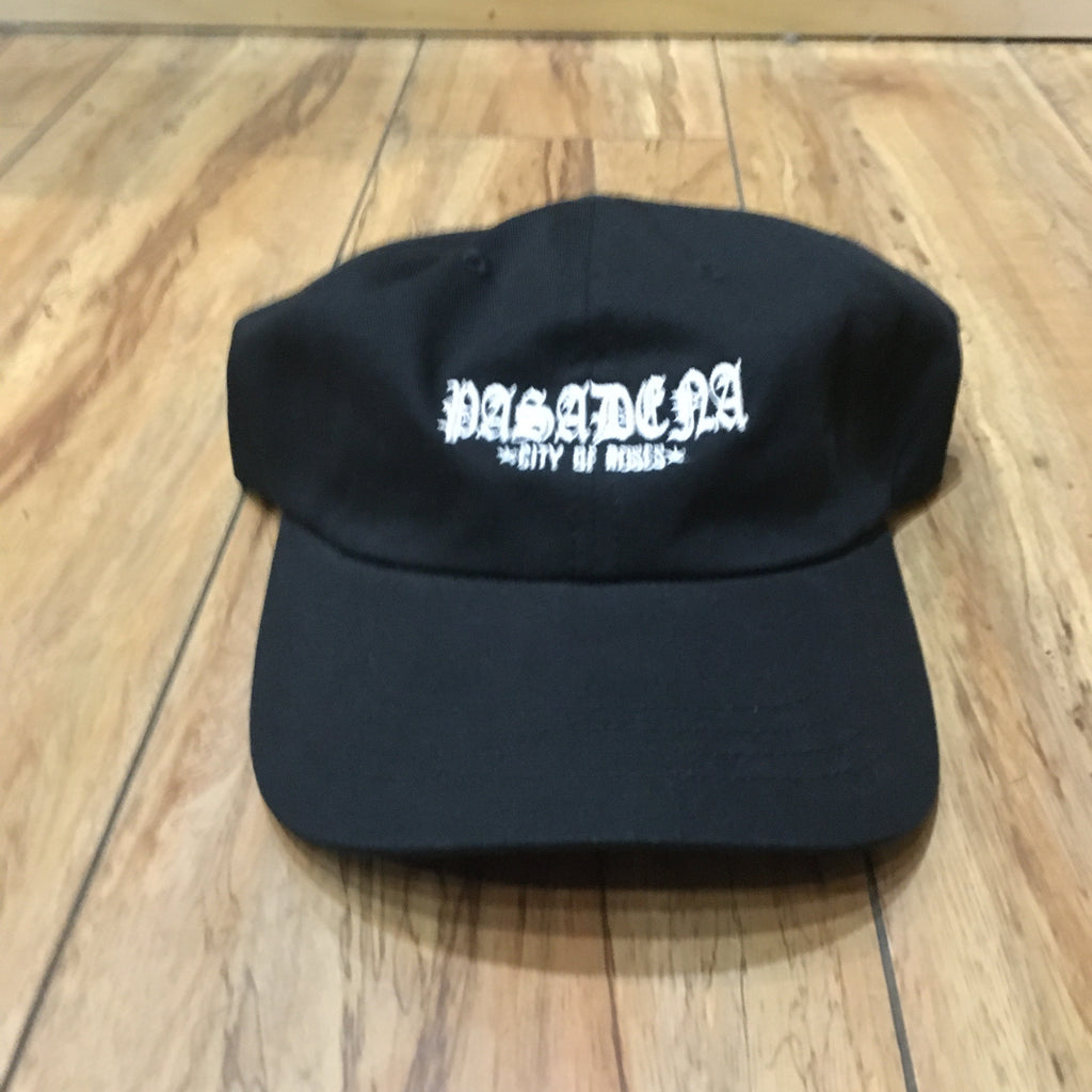 From The Ground Up City of Roses Pasadena Black Dad Hat