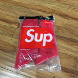 Supreme Hanes Socks Red Sz 6-12