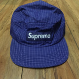 Supreme Hat Contrast Ripstop Camp Cap Royal S/S 18'