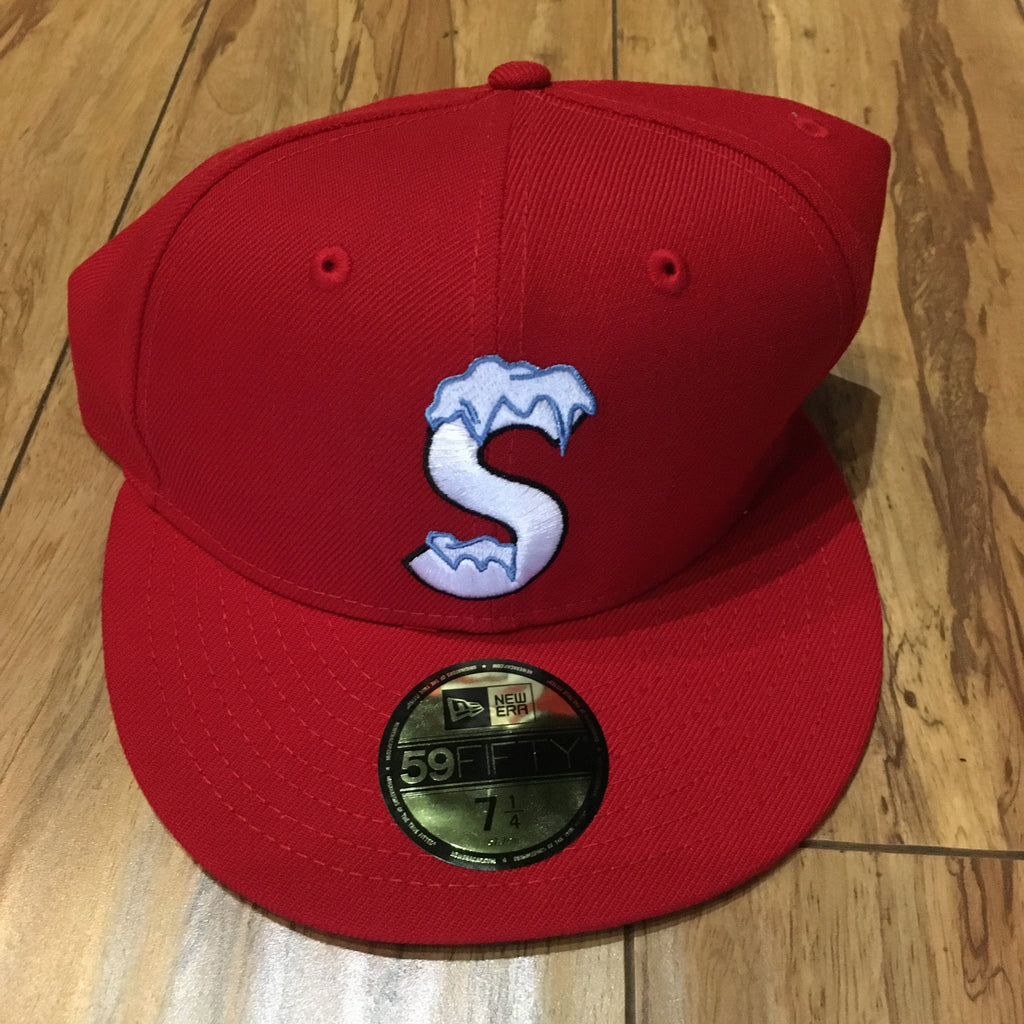 Supreme Hat S Logo New Era Red F/W 20'
