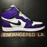 Air Jordan 1 Court Purple 2.0 Sz 8