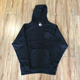 Anti Social Social Club Dramatic Hoodie Black Sz M