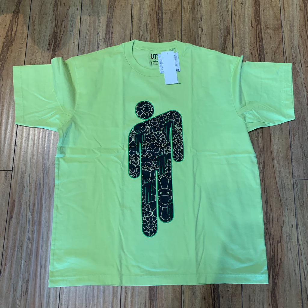 Uniqlo x Takashi Marukami x Billie Ellish Stick Man Tee Sz L