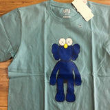 Uniqlo Kaws BFF Tee Blue/Green Sz S