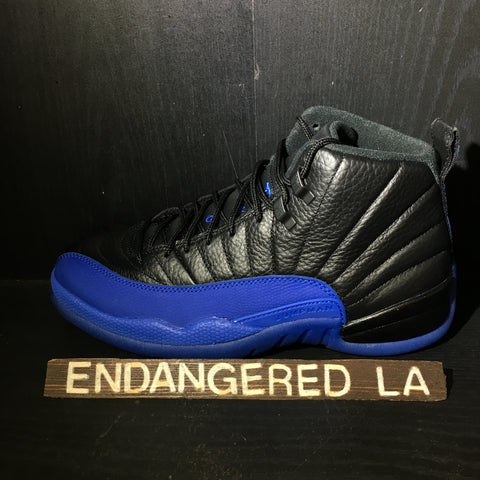 Air Jordan 12 Black Game Royal Sz 8.5
