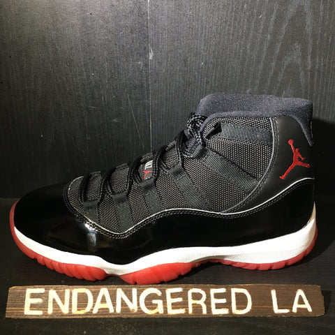 Air Jordan 11 Bred 19' Sz 8