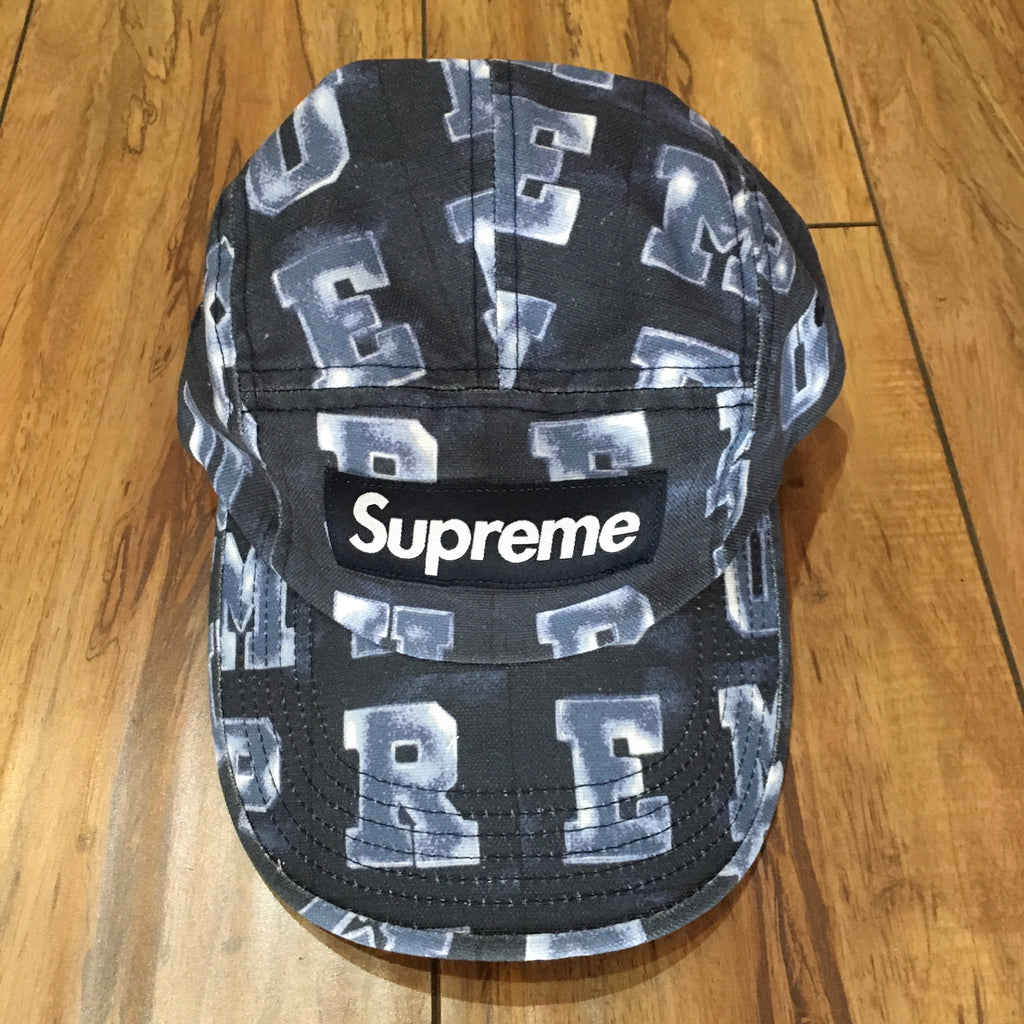 Supreme Hat Blocks Camp Cap F/W 20'