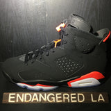 Air Jordan 6 Black Infrared 19' Sz 12