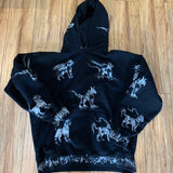 Supreme Hoodie Animals Black S/S 19' Sz XL