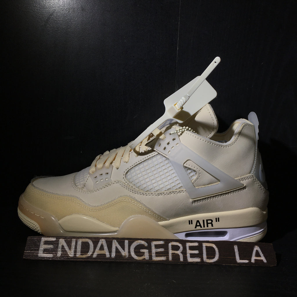 Air Jordan 4 Off White Sz 12.5 (W) 11(M)
