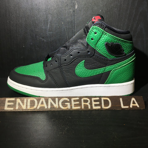 Air Jordan 1 Pine Green Black Sz 7