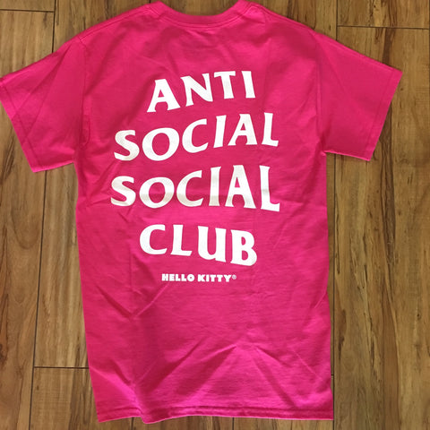 Anti Social Social Club Hello Kitty Tee Sz XS
