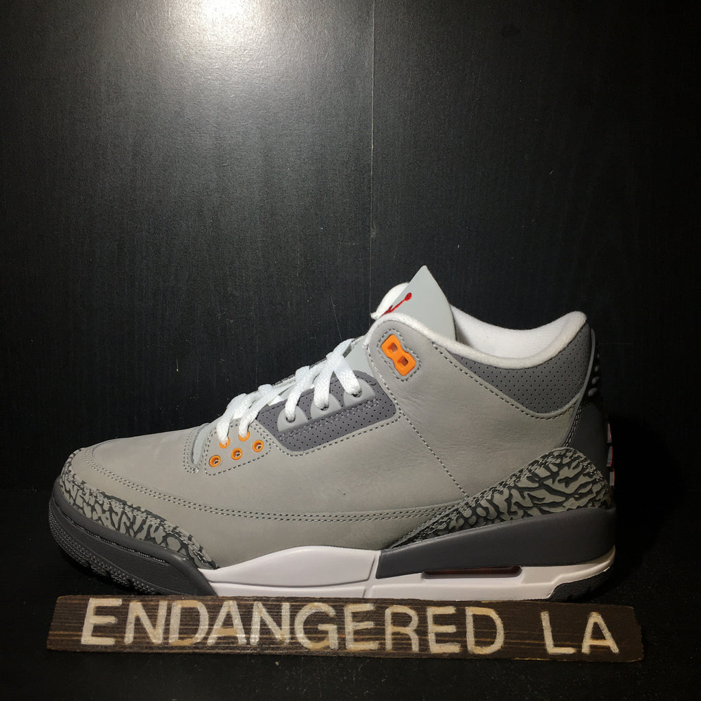 Air Jordan 3 Cool Grey 21' Sz 11.5