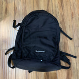 Supreme Backpack Black S/S 19'