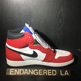 AIr Jordan 1 Spider Man Sz 11