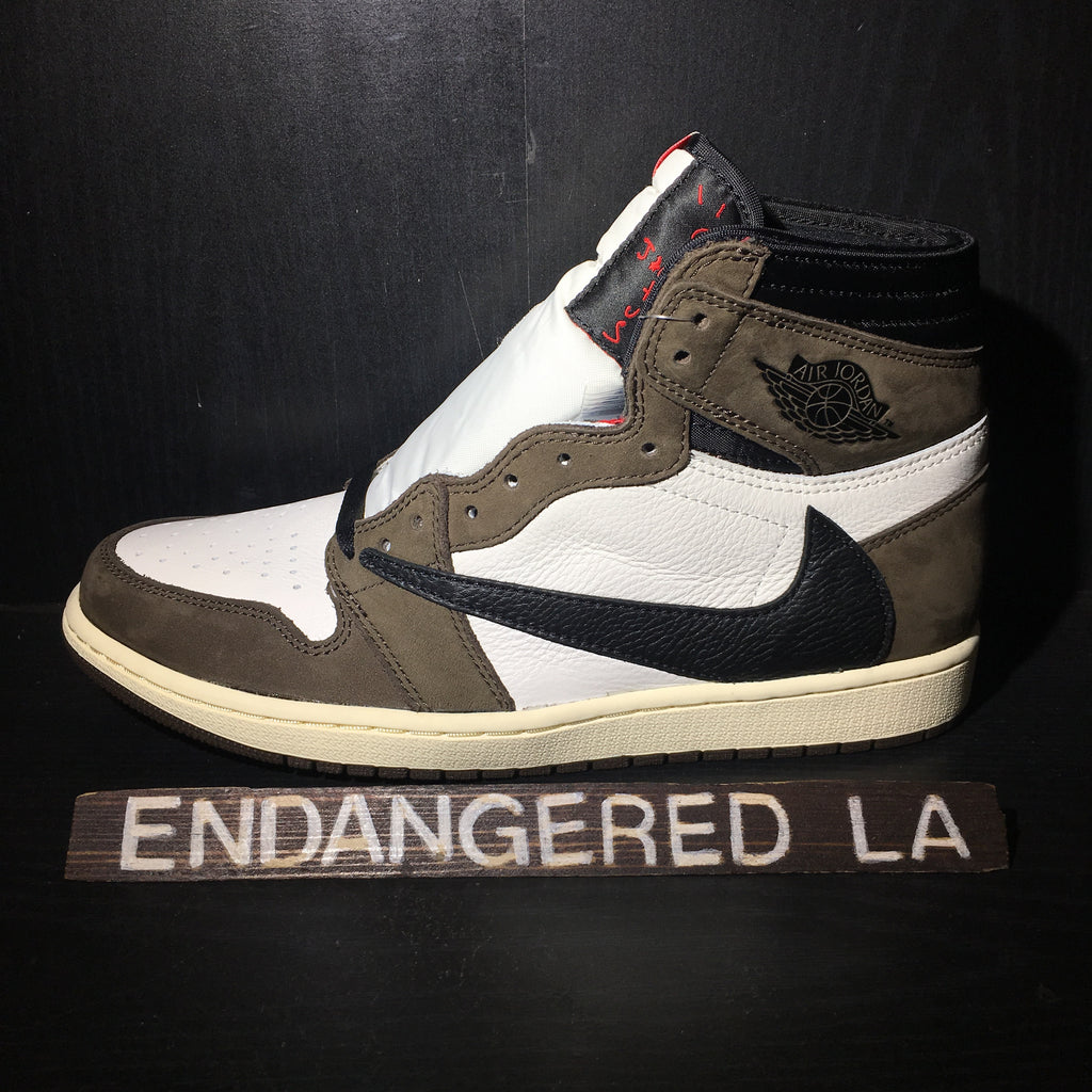 Air Jordan 1 Travis Scott Sz 13