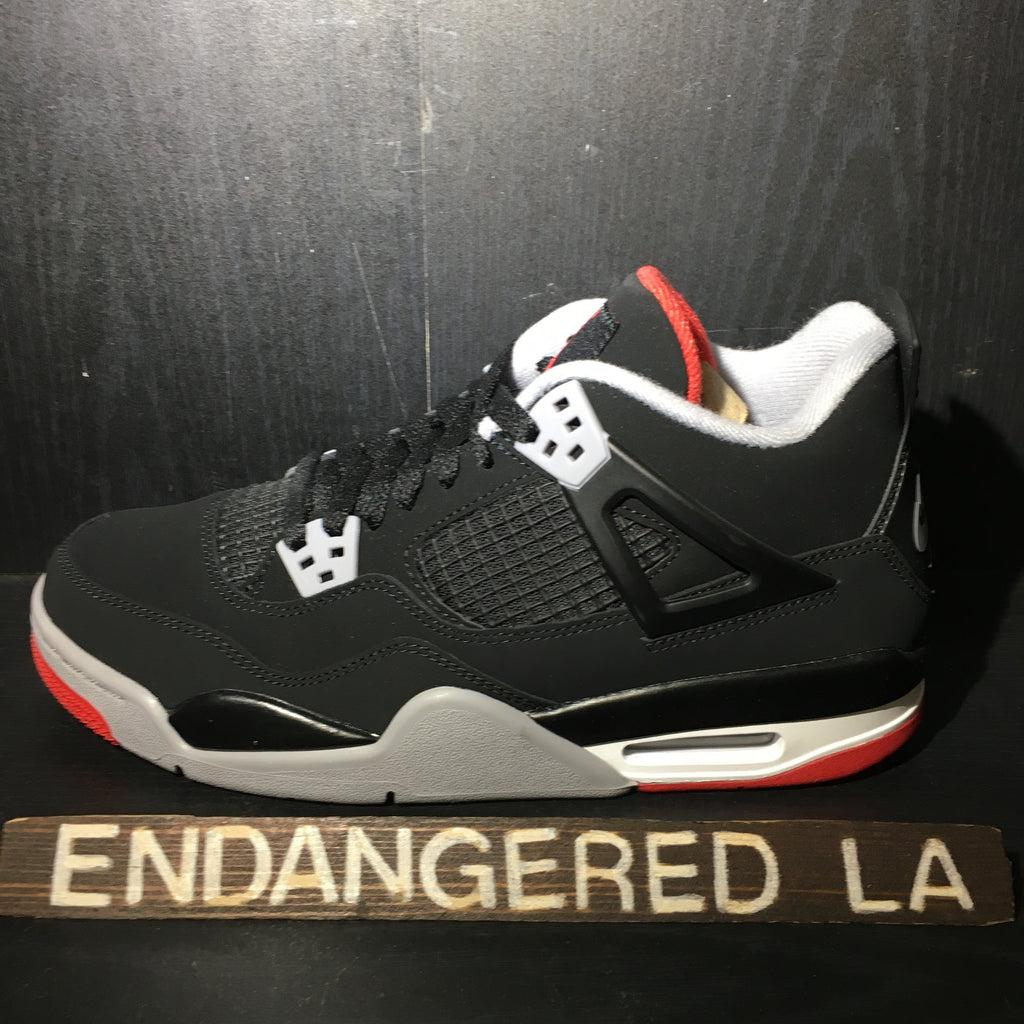 Air Jordan 4 Bred 19' Sz 4