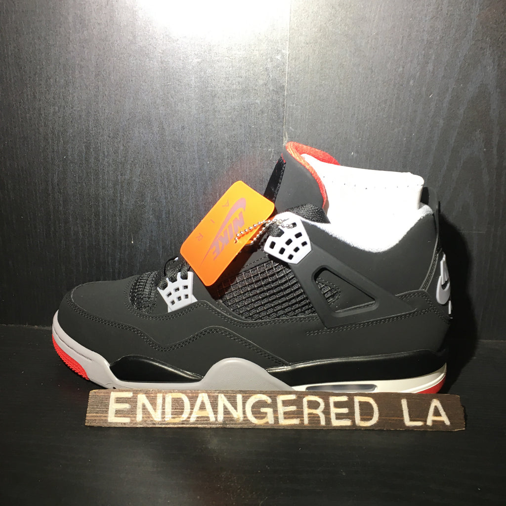 Air Jordan 4 Bred 19' Sz 7