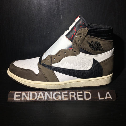 Air Jordan 1 Travis Scott Sz 10.5