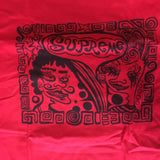 Supreme Faces Tee Red F/W 18' Sz XL