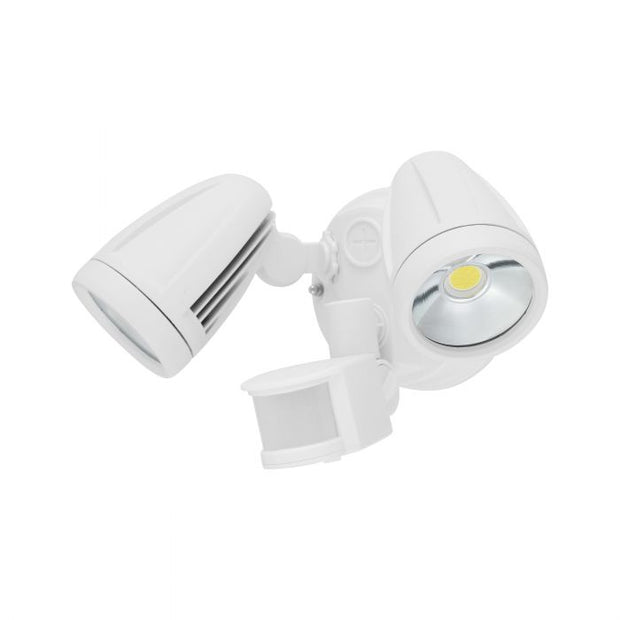 Chopper - 2x 12W LED Flood Light with Sensor - White