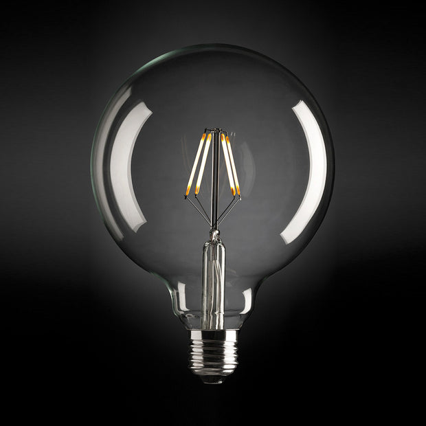 4W G95 Carbon Filament LED Globe - Edison Screw - Cool White