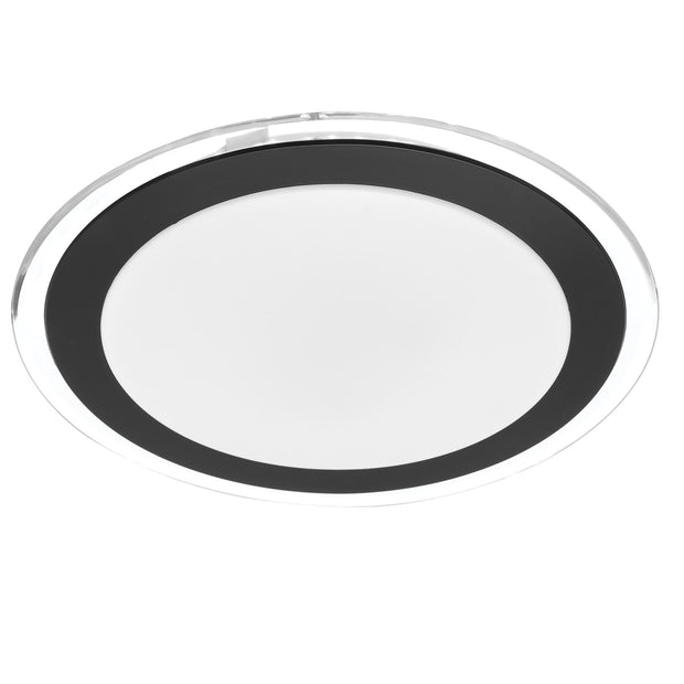 Astrid 30w CCT LED oyster 400mm BLACK