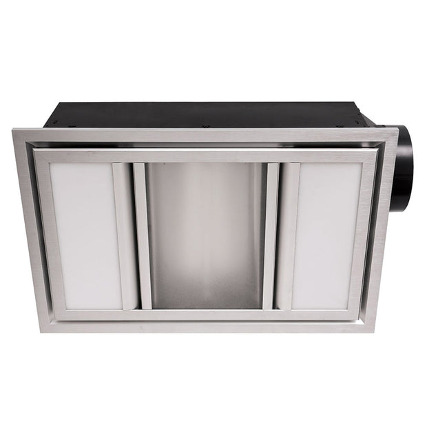 Domino 3-in-1 Exhaust Fan - Silver