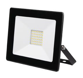 Ludo Black LED Floodlight 30W