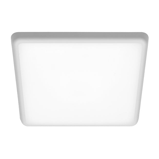 Quinn 25w Square CCT LED dimmable oyster 300mm