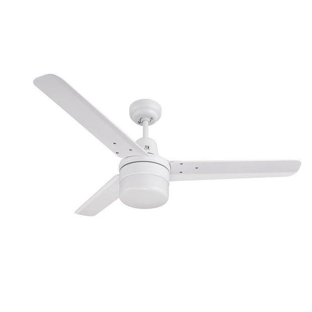 Roma Ceiling Fan White with Light