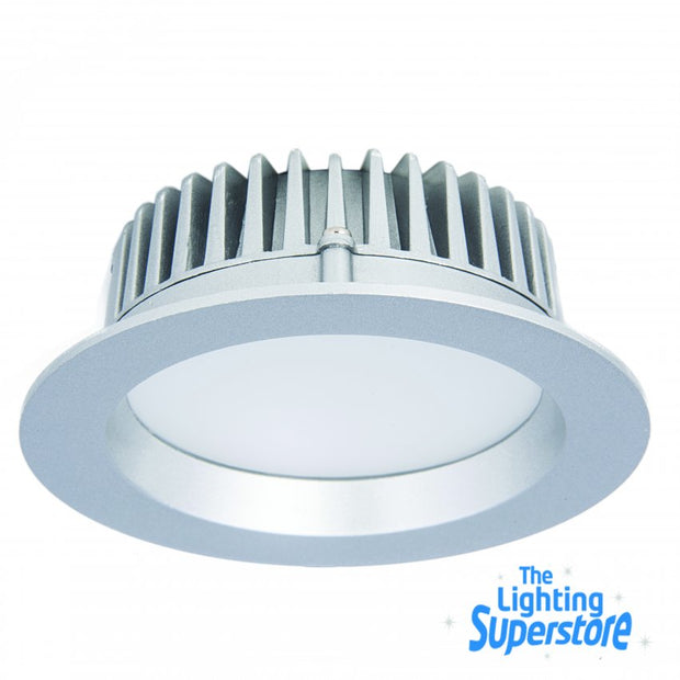 13w 950lm 3000K LED downlight - Silver